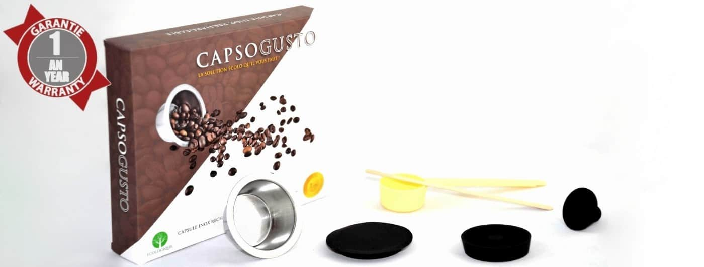 Capsules réutisables DOLCE GUSTO